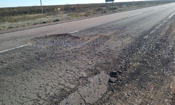 ruta 151 puelen1 - Luego de años de reclamos, comienzan a reparar la ruta 151