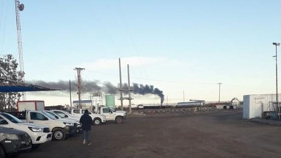 tanque petroleo 25 2 - Explotó un tanque petrolero en yacimiento Pampeano